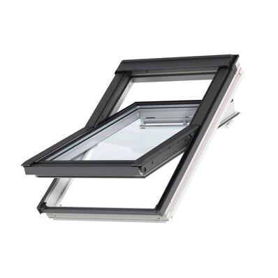 Fenêtre de toit VELUX standard GGL Mk04 l.78 x H.98 cm WhiteFinish