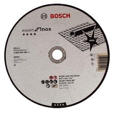 Disque à tronçonner métal / inox Diam.230 mm - BOSCH