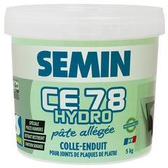 Enduit CE 78 hydro en pâte seau de 5 kg - SEMIN