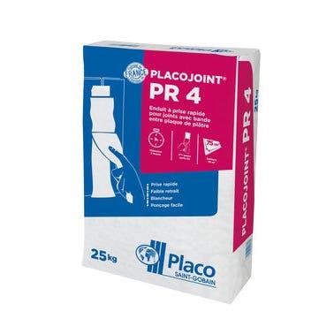 Enduit joint séchage 4h Pr4 25 kg Placojoint - PLACOPLATRE