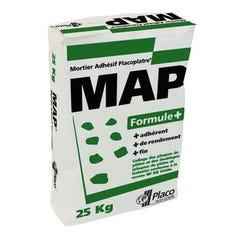 Mortier colle formule + MAP 25kg PLACO
