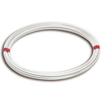 Fil plastique blanc Diam.2.7 mm Long.20 m