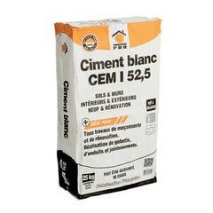 Ciment Blanc 25 Kg