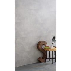 Lambris PVC décor béton clair L.2600 x l.375 x Ep.8 mm - colis de 3,9 m²