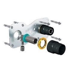 "Kit de fixation de robinetterie ROBIFIX®+ PER à sertir 150 mm Mâle 20x27 (3/4"") Ø12mm WATTS"