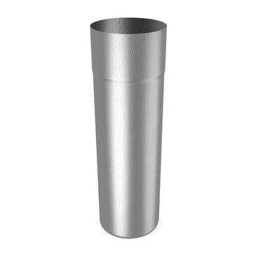 Descente tulipe acier L.2000 x Diam.80 x Ep.0,55 mm - RHEINZINK