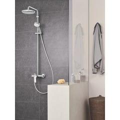 Colonne de douche avec mitigeur monocommande Tempesta Cosmopolitan System 210 Chromé GROHE 26224001