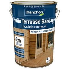 Huile terrasse et bardage bois BLANCHON IPE 5L