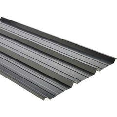 Tôle nervurée laquée grise 63/100 L.250 x l.105 cm