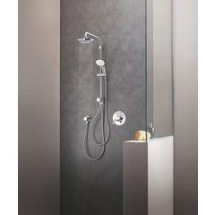 Colonne de douche avec inverseur manuel chromé Tempesta System - 26381001 GROHE