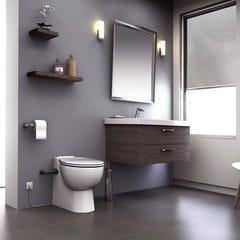 """WC à poser avec broyeur intégré """"SANICOMPACT PRO"""" SFA (C11STD)"""