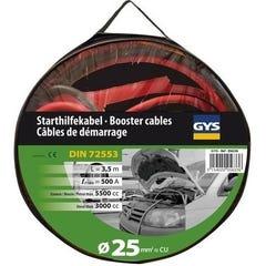 CABLES DEMARRAGE 500A (3.5 L/5.5 L)