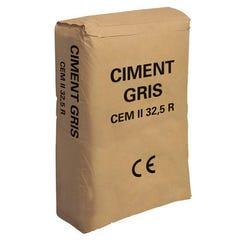 Ciment Gris Vrac Du Nord Ce, Sac 25 Kg