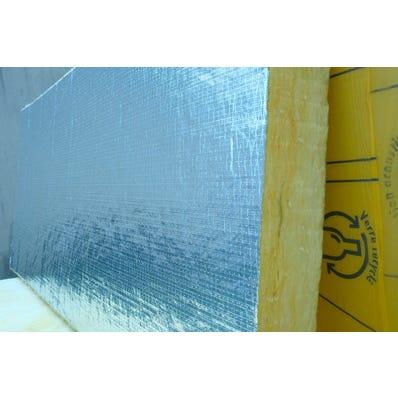 5 Panneaux Panodal Alu Ep 96 mm ISOVER 1.35x0.6M