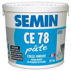 Enduit CE 78 en pâte seau de 25 kg - SEMIN