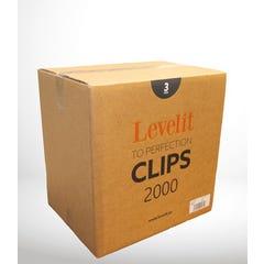 CROISILLONS NIVELANTS 2000 PCS 3 MM
