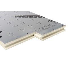 5 Panneaux isolants Polyuréthane + alu Sol+Mur 120x60 cm Ep100mm R = 4.65 SOPREMA