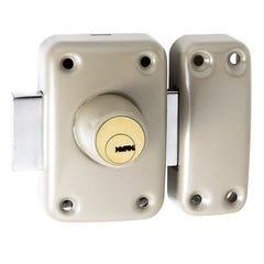 Verrou haute sûreté double cylindre 45 mm