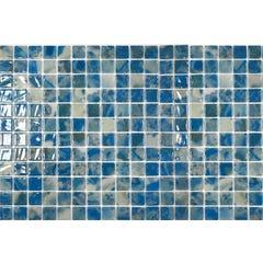 Mosaïque de verre Blue Gem