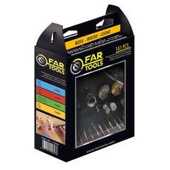 Kit 143 accessoires pour outils miniatures - Travail du Bois FARTOOL pour outils multifonction 115841