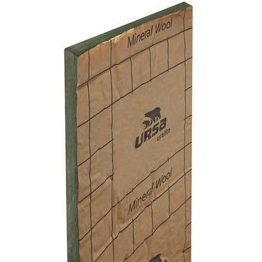 Lot de 10 panneaux laine de verre Kraft TH38 R = 2 L.135 x l.60 cm Ep.75 mm - URSA