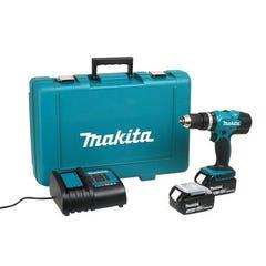 Perceuse Visseuse MAKITA à percussion sans fil 18V DHP453SFE 2 batteries 3Ah