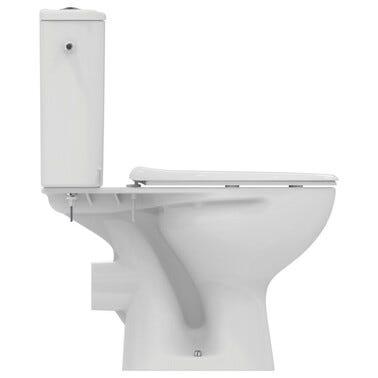 Pack WC à poser sortie horizontale Astor 2 - IDEAL STANDARD
