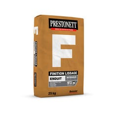 Enduit de lissage et finition en poudre PRESTONETT F 25kg