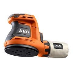Ponceuse excentrique sans fil 18V AEG sans batterie ni chargeur Plateau Ø125mm Orbitale BEX18-125-0