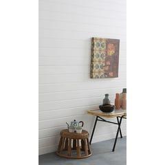 Lambris PVC décor blanc l.100 x Ep.8 mm - colis de 2,60 m²