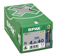 VIS SPAX TF YELLOX TX 4,5X40 FP X500