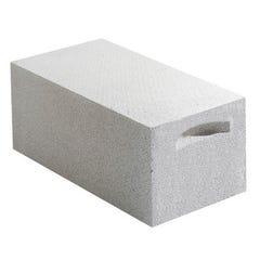 Bloc Beton Cellulaire Lisse 15 X25x 62,5