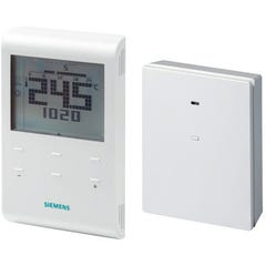 Thermostat d'ambiance programmable sans fil pour fil pilote RDE 100