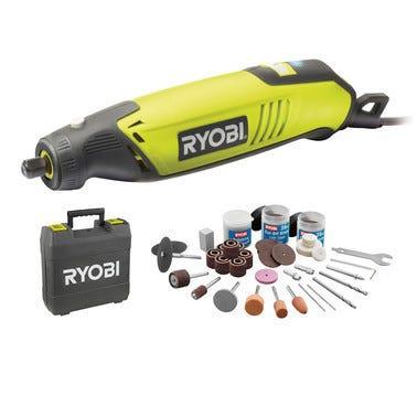 Outil Multifonction de précision RYOBI 150W + 115 accessoires EHT150V 5133000754