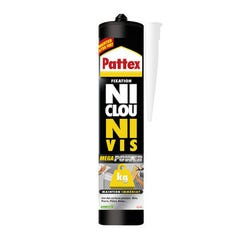 FIXATION NI CLOU NI VIS PATTEX MEGA POWER 370 G