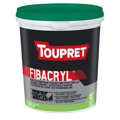 Enduit de rebouchage souple et fibré en pâte TOUPRET FIBACRYL® 1L