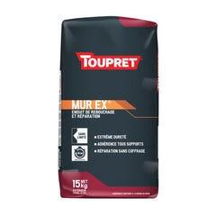 Enduit de rebouchage/réparation ext en poudre TOUPRET MUREX® 15kg