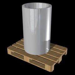 Bobine classic naturel 1000 x 0,65 mm 98 kg Long.21 m - RHEINZINK