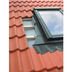 Raccord fenêtre de toit tuile haute L55xH78cm