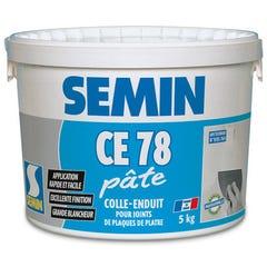 Enduit CE 78 en pâte seau de 5 kg - SEMIN
