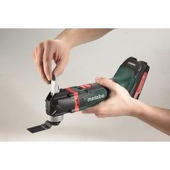 Outil multifonctions sans fil 18V METABO sans batterie ni chargeur + 14 Accessoires MT18LTX Multitool en coffret Metaloc 613021840