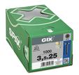VIS SPAX GIX D PLÂTRE ACIER 3,5X25 X1000